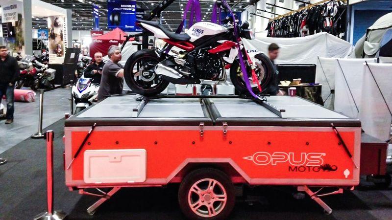 Motorbike-Hauling Trailers