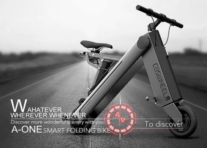 Extremely Slender E-Bikes