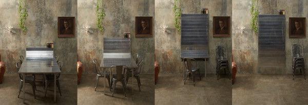 Accordion-Style Furniture