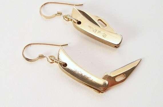 Sharp Switchblade Jewelry
