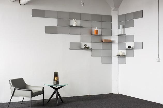 Space-Saving Folding Shelves