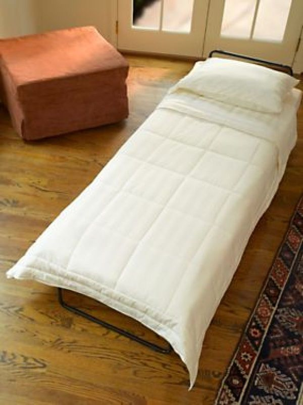 unusual guest sleepers fold out ottoman bed. Black Bedroom Furniture Sets. Home Design Ideas