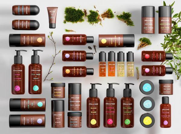 Scandinavian Skincare Branding