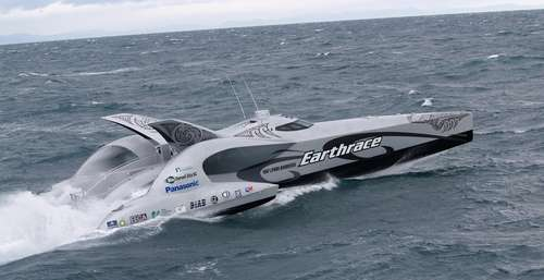 Follow Up: Earthrace Environmental Powerboat Sets Sail
