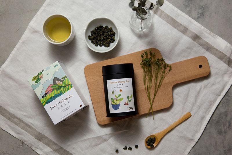 Delicate Landscape-Inspired Teas