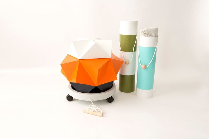 Origami-Inspired Picnic Baskets