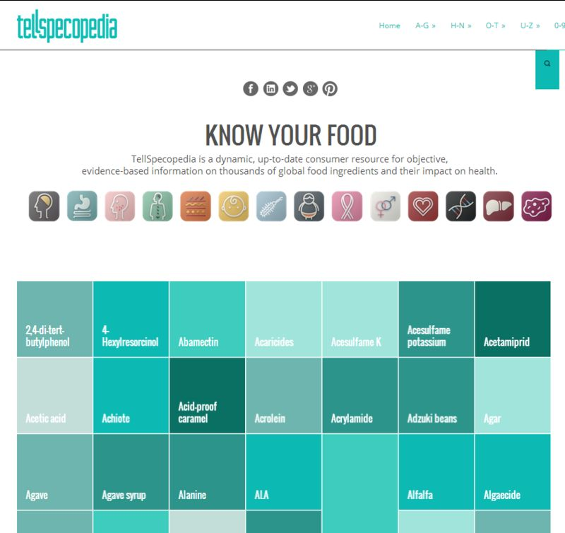 Comprehensive Food Databases