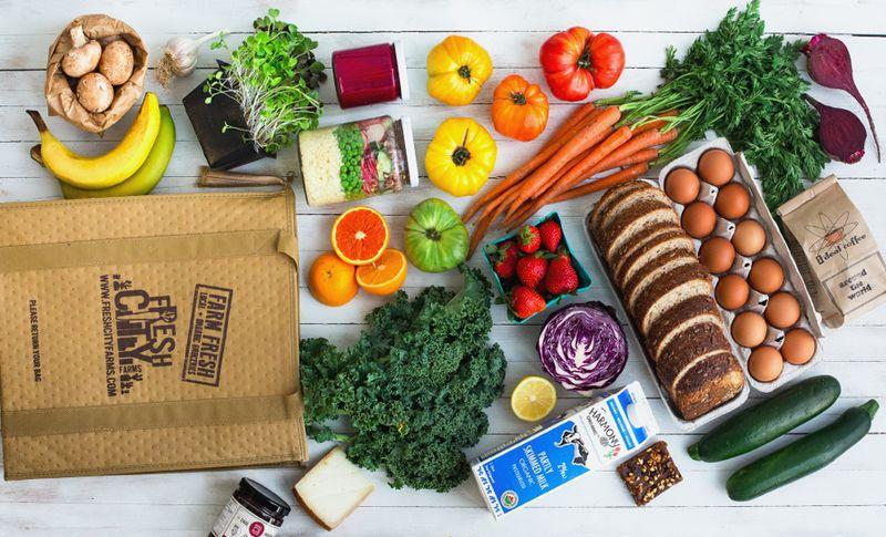 Organic Food Drive-Thrus