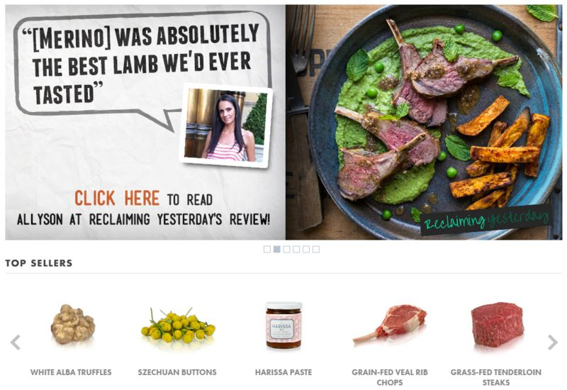 Clean Food E-Commerce