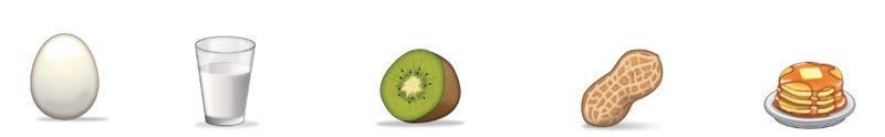 Expressive Food Emojis