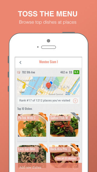 Food Mapping Apps