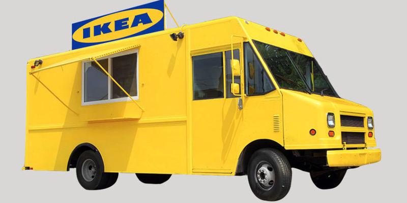 Furniture Brand Food Trucks