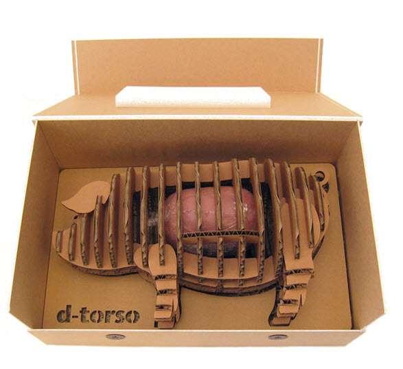 3D Pork Packaging