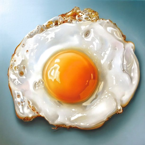 Hyperrealistic Food Paintings