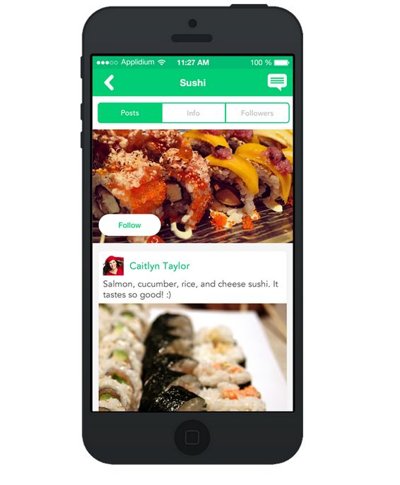 Allocating Food Photo Apps
