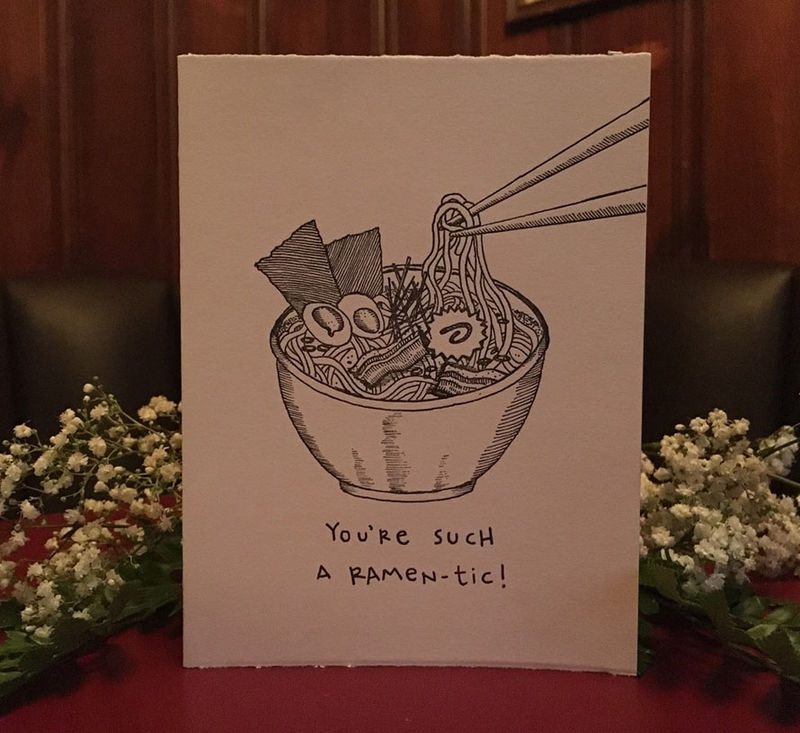Delicious Pun Greeting Cards
