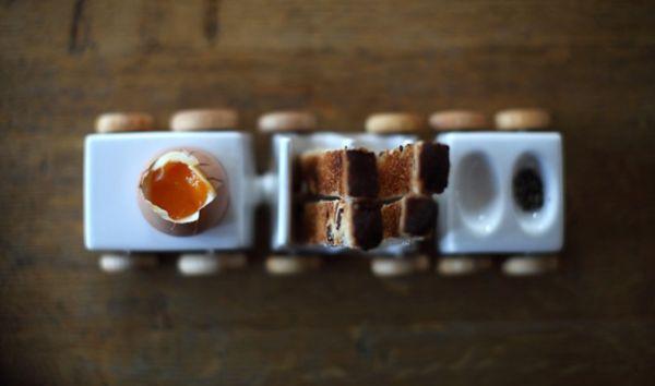 Train Breakfast Trays