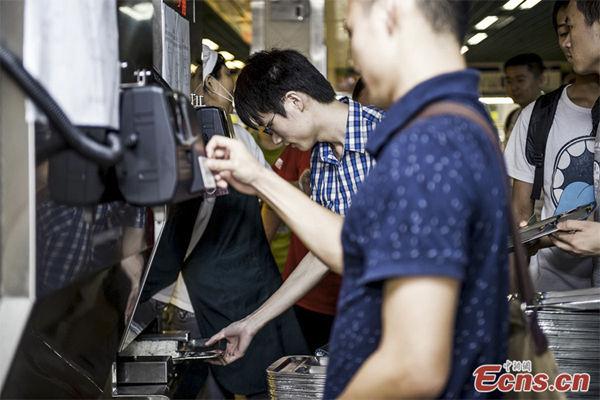 Rice-Dispensing Machines