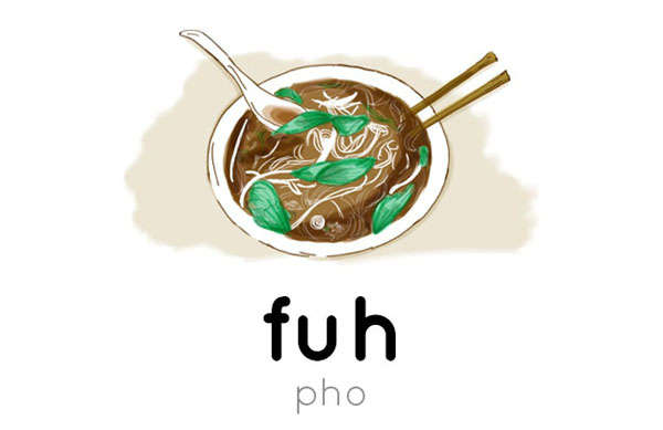 Food Pronunciation Illustrations