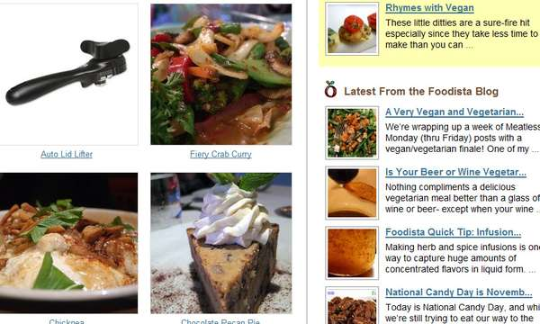 Crowdsourced Cookbooks