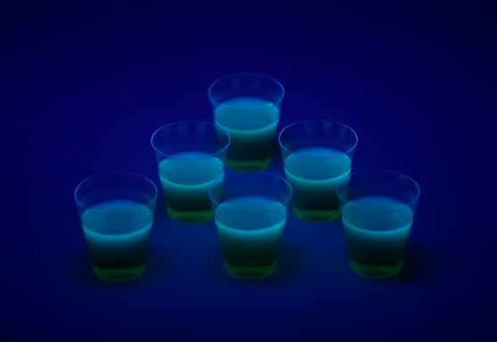 Luminous Gelatin Shooters