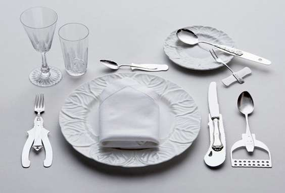 Manly Dining Utensils