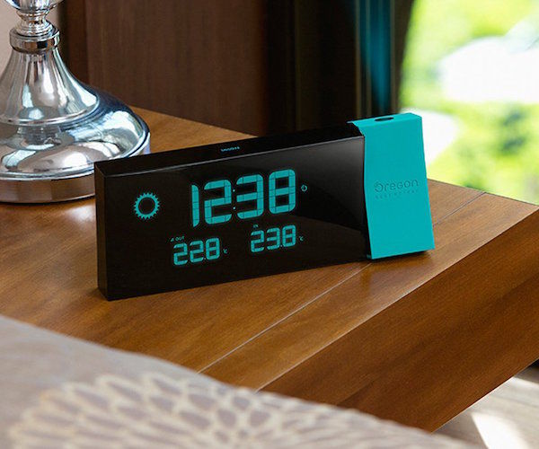 Connected Alarm Clocks : forecast clock