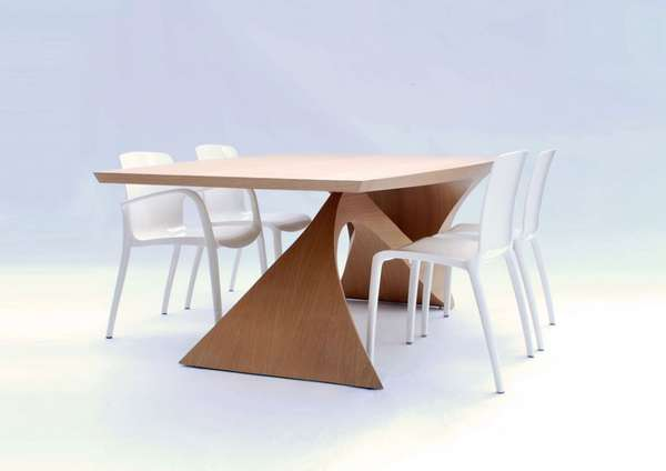 Curvaceous Cantilevered Furniture