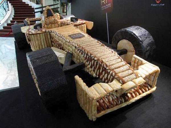 Formula 1 Bread Car