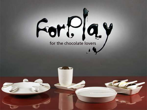 Forplay Chocolate Sauce Dish