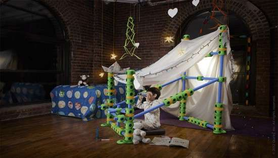 Playful Customized Forts Fort Building Kit