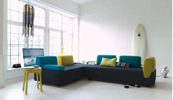 Relaxing Recessed Furniture FOSSA Sofa