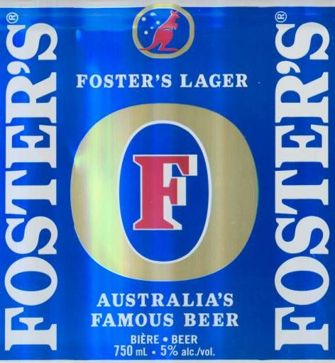 Foster's Eco-Friendly Beer