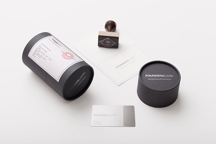Tubed Business Card Holders