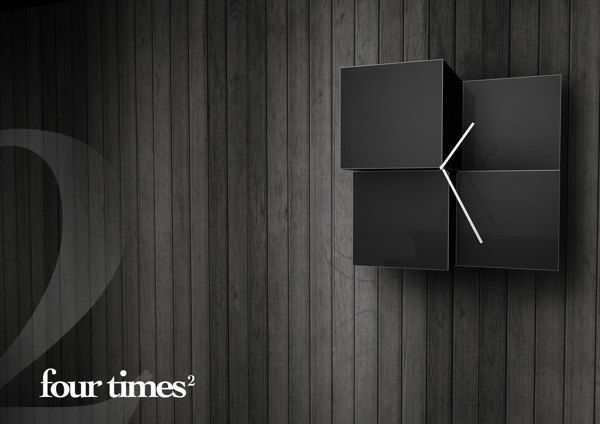 Cubist Wall Clocks