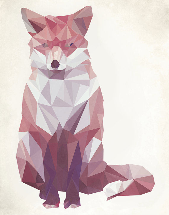Angular Animal Illustrations