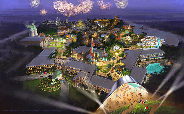Extreme Movie Theme Parks