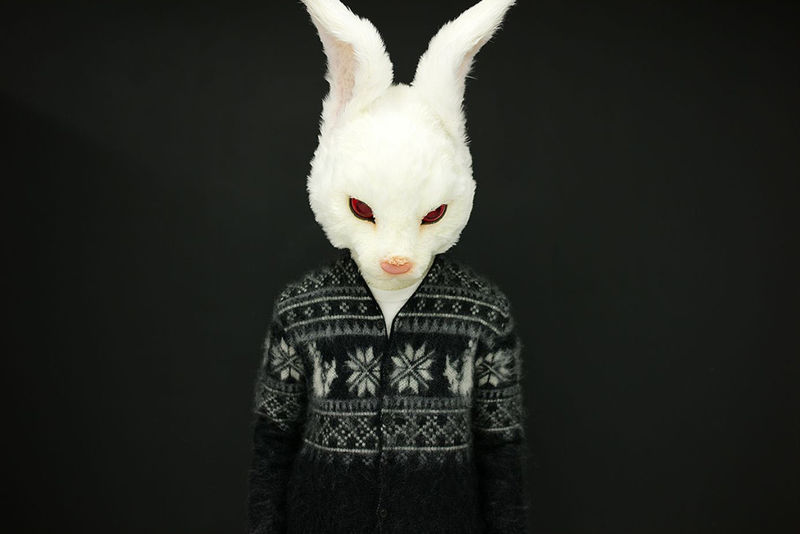 Graphic Rabbit Cardigans
