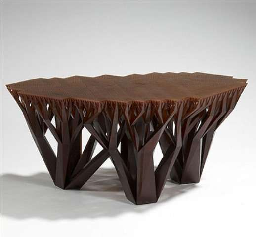 Tree Root Tables Fractal Mgx