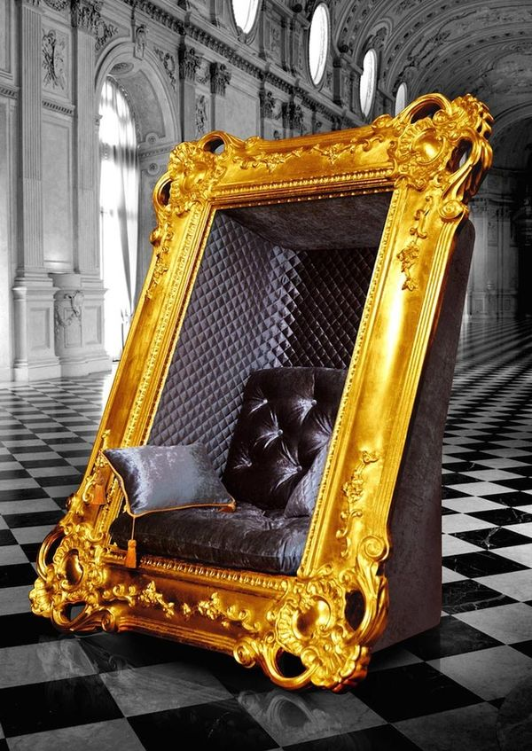 Ornate Illusory Frame Chairs
