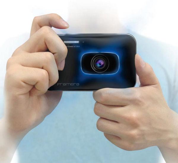Laser-Framed Photography