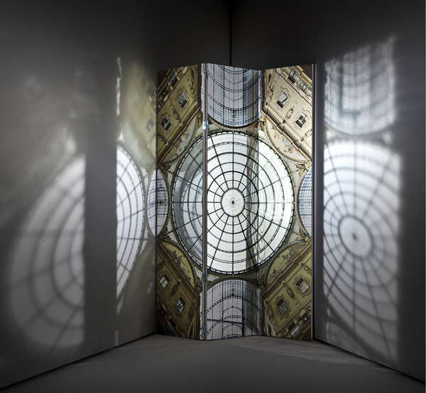 Stained Glass-Inspired Screens