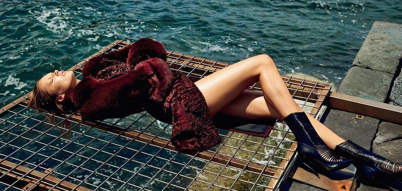 Seductive Shipwrecked Editorials