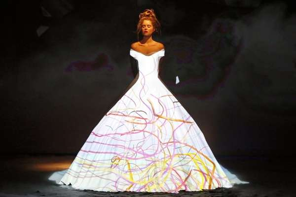 Light-Transforming Gowns