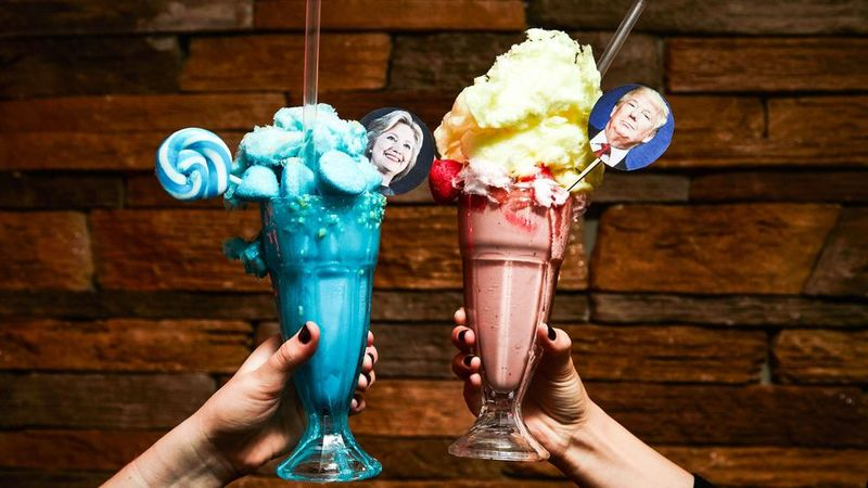 Presidential Candidate Milkshakes