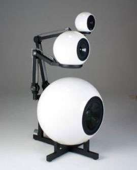 Freaky Eyeball Speakers