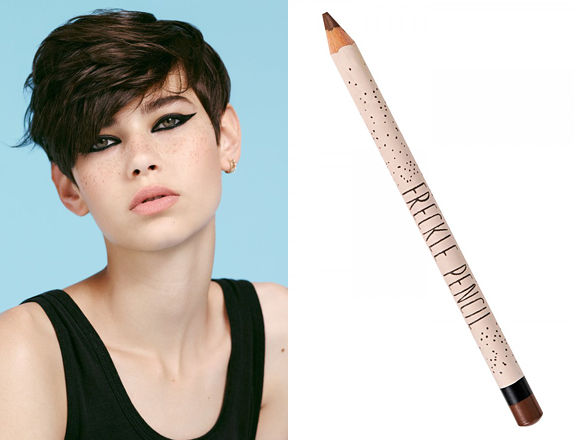 Faux Freckle Pencils