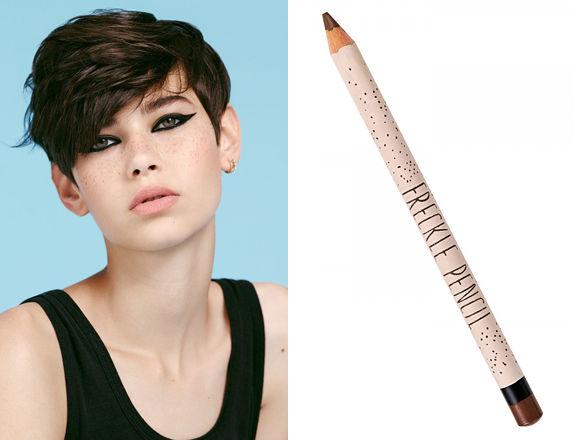 Faux Freckle Pencils