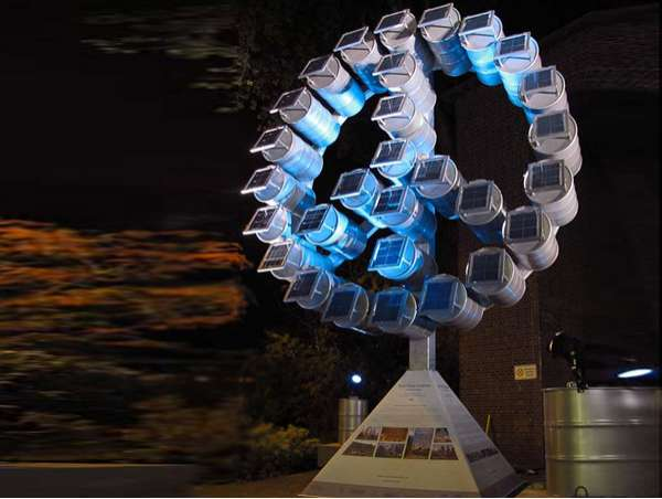 Energy-Generating Eco Sculptures