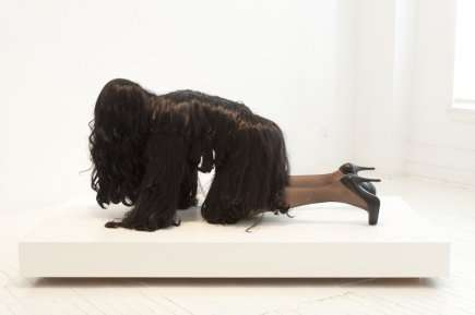 Hairy Human Sculptures